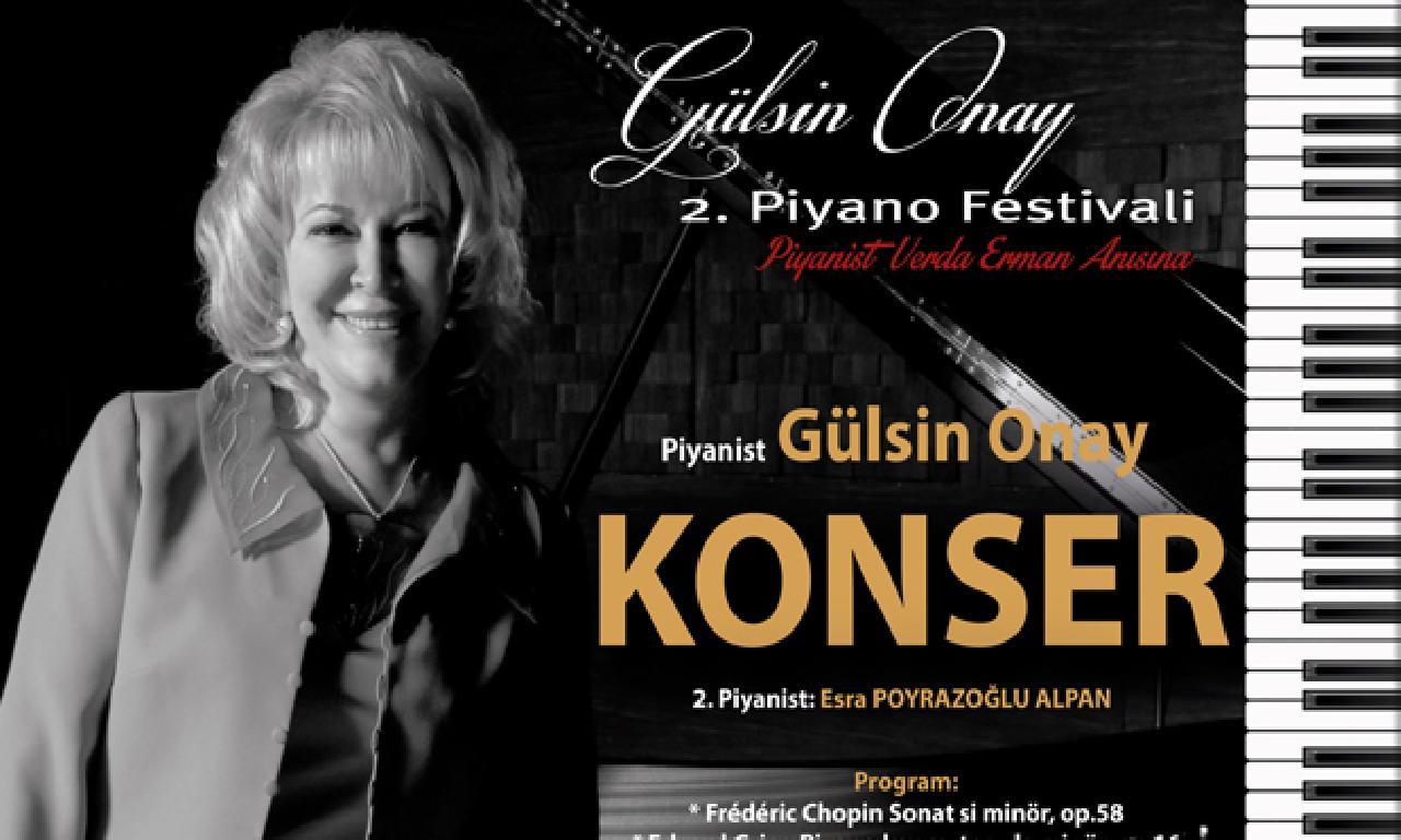 Türkiye Devlet Sanatçısı Gülsin Onay Piyano Resitali Verecek