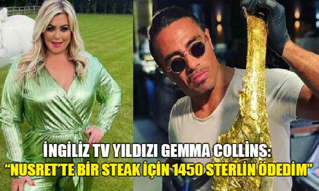 Collins: Nusret'te tek steak için 1450 sterlin ödedim