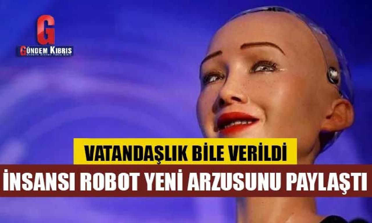 İnsansı robot Sophia ana dönüşmek istiyor