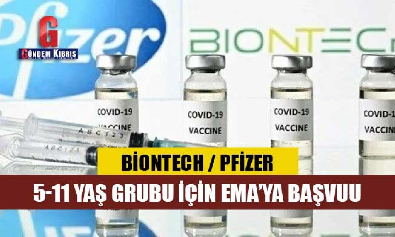 BioNTech 5-11 yaş grubu için icazet almak başvurusu yaptı