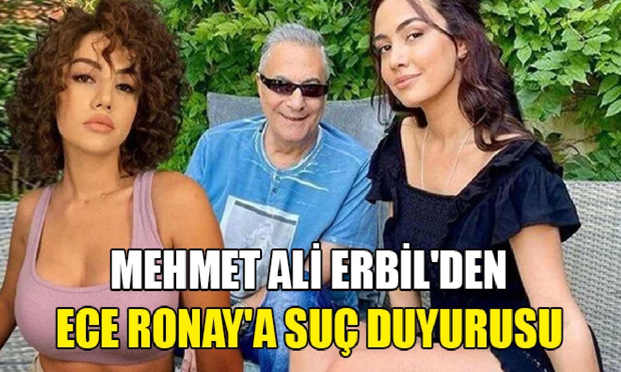 Mehmet Ali Erbil'den Ece Ronay hamlesi
