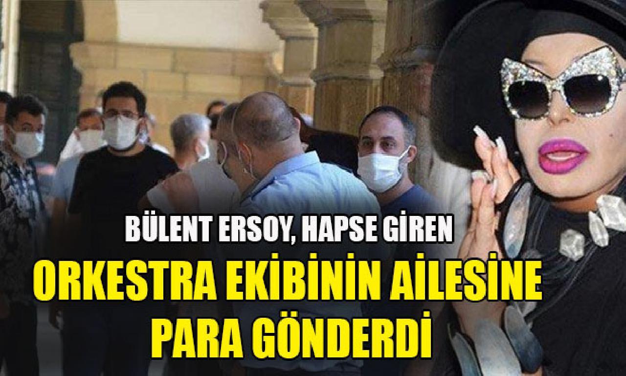 Bülent Ersoy, hapse giren beraberlik müziği ekibinin ailesine kazanç gönderdi