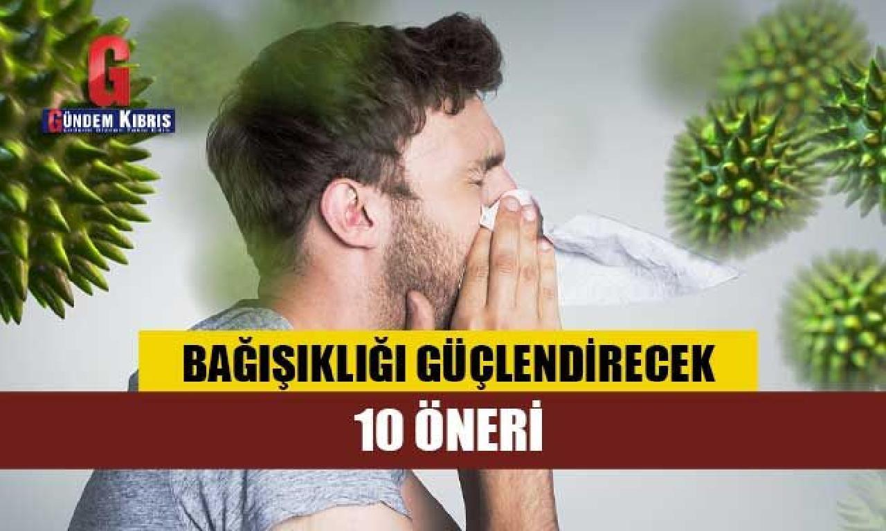 Dr. Ender Saraç'tan bağışıklığı güçlendiren 10 öneri