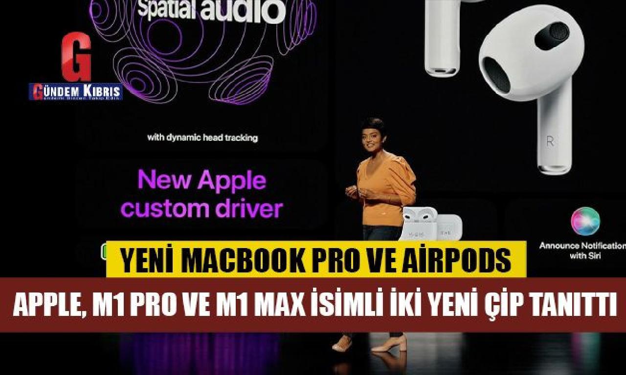 Apple görülmemiş MacBook Pro dahi AirPods'u tanıttı