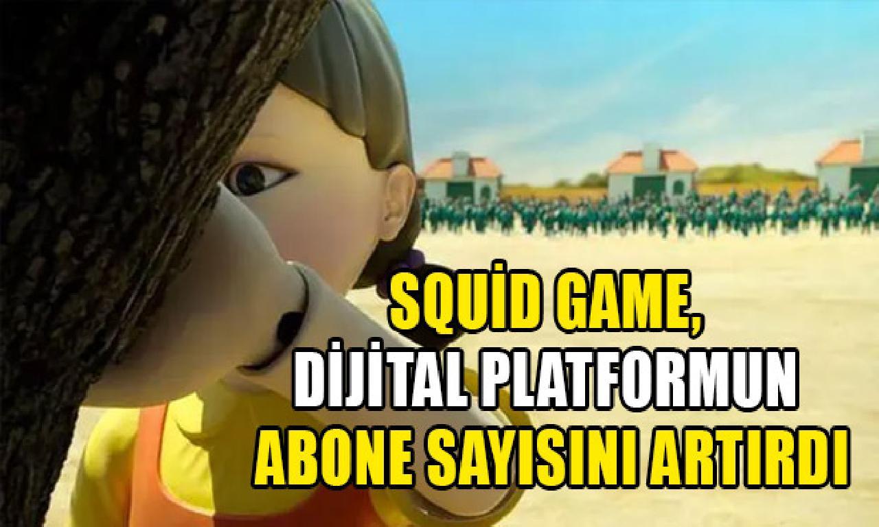 Squid Game, sayısal platformun sürdürümcü sayısını artırdı