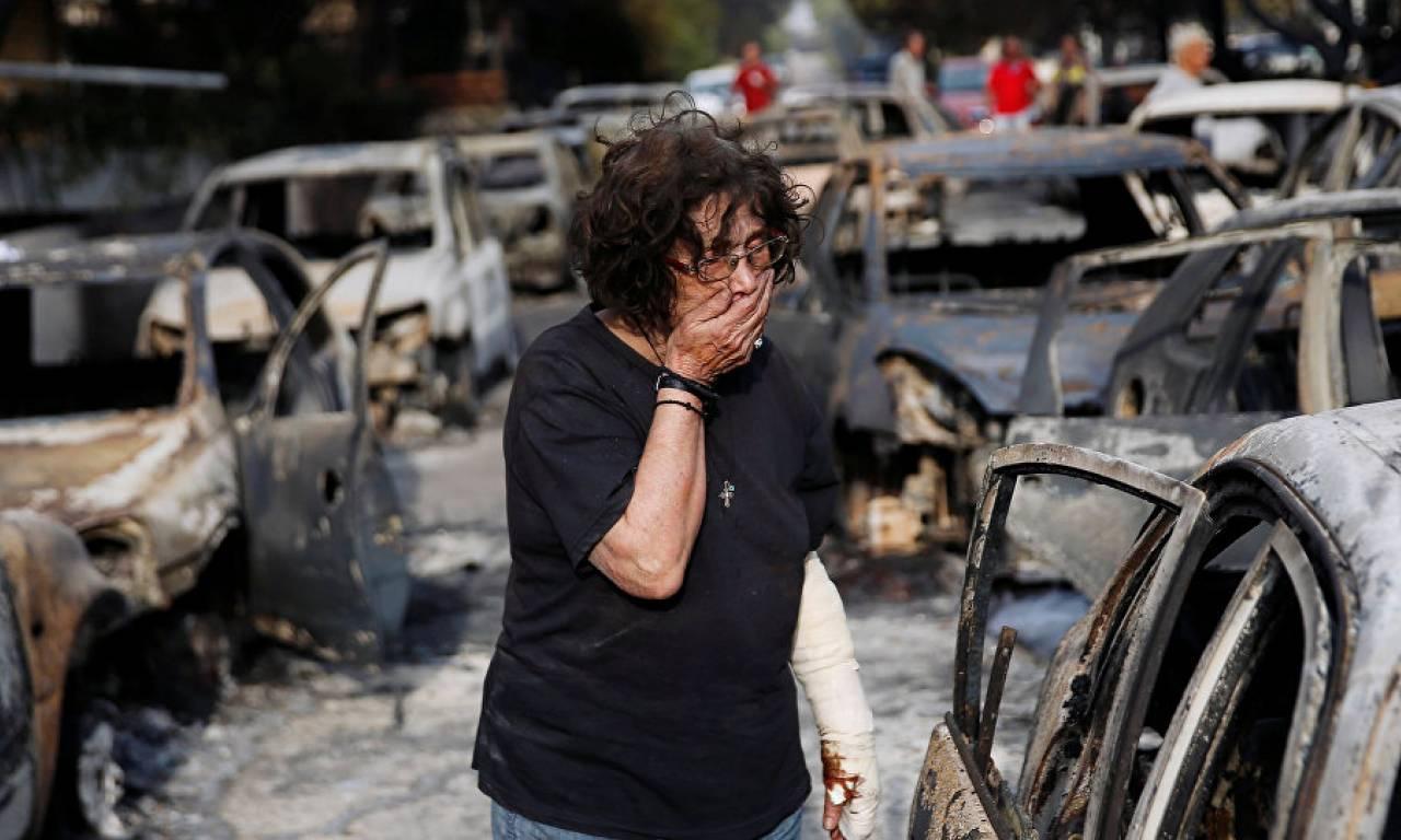 Atina yakınlarındaki orman yangınlarında ölü sayısı 60'ı aştı